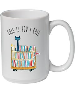 Demco® Upstart® Pete the Cat® This is How I Roll Mug