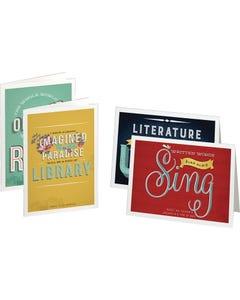Demco® Upstart® Literary Quotes Notecards