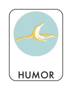 Demco® Retro Genre Subject Classification Labels - HUMOR