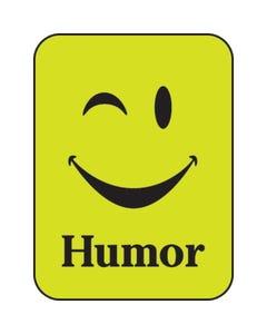 Demco® Silhouette Genre Subject Classification Labels-Humor