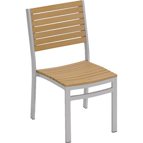 Tekwood Side Chair Shown With Natural Finish