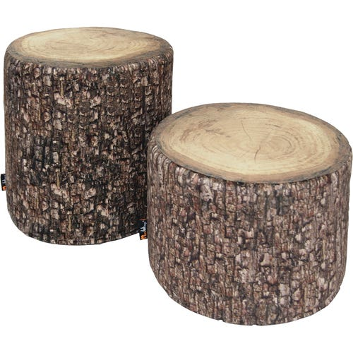 Forest Tree Trunk Stools