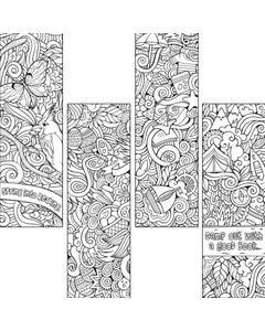 Demco® Upstart® Color Craze Spring/Summer Bookmarks