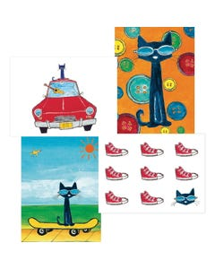 Demco® Upstart® Pete the Cat® Note Cards