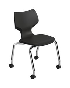 Smith System™ Flavors Mobile Stack Chair Shown in Black