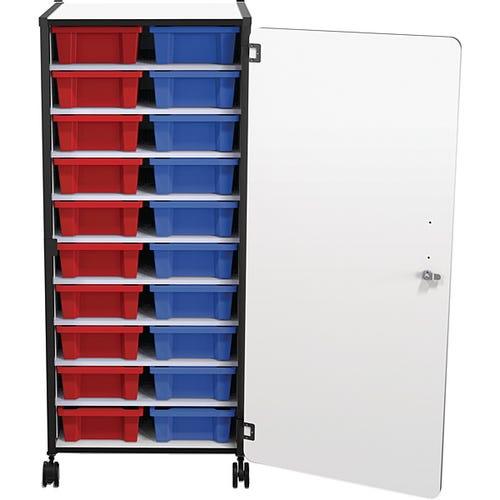 20-tub Mobile Storage Cart