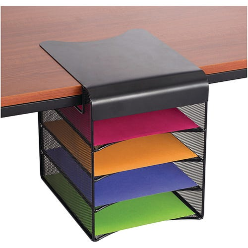 Solid Top Storage Horizontal w/ 4 Compartments