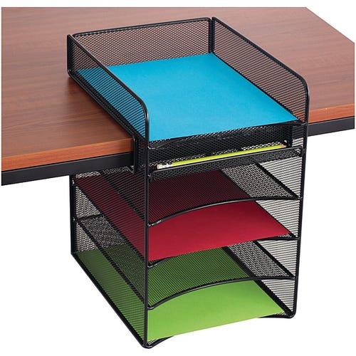 Desktop Storage Horizontal w/ 4 Compartments