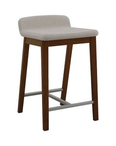 "Counter Height Stool, 27-1/2""H x 18""W x 18-1/4""D, 24""H Seat"