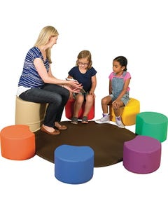 Children's Factory™ Stools with Adult Seat
