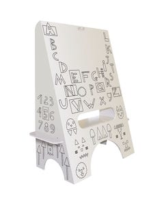 Fun Deco® Dry-erase ABC's & Numbers Easel