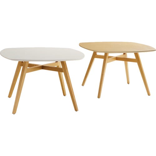 Shown From Left to Right: Round Table, Squircle Table