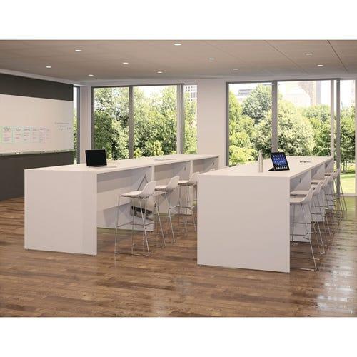 Panel Tables in Designer White