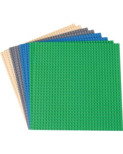Strictly Briks® Stackable Baseplates 8 pack