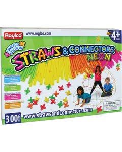Roylco® Neon Straws & Connectors