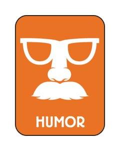 Demco® Modern Genre Subject Classification Labels - Humor