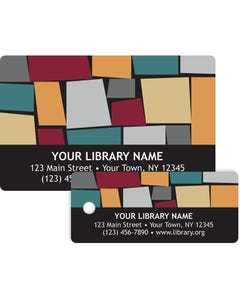 Gaylord® Predesigned Patron ID Cards - Mosaic