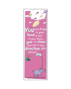 Demco® Upstart® Dr. Seuss™You Have Brains Bookmarks