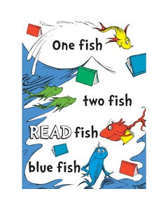 Demco® Upstart® Dr. Seuss™ One Fish Two Fish Poster