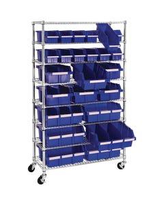 Seville Classics® Bin Rack Systems