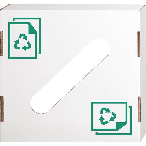Paper Recyling Lid, 10/Pkg.