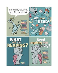 Demco® Upstart® Mo Willems Mini Poster Set