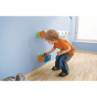 Catch Bin Shown with HABA® Wall Ball Track (Sold Separately)
