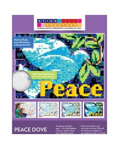StickTogether® Peace Dove Mosaic Sticker Puzzle Poster