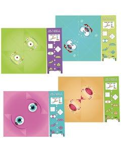 Demco® Upstart® Origami Activity Monster Bookmarks