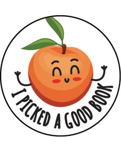 Demco® Upstart® Peach Scratch-and-Sniff Stickers