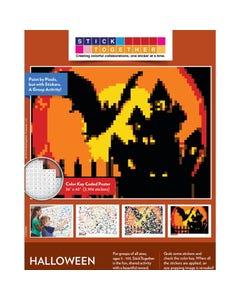 StickTogether® Halloween Scene Mosaic Sticker Puzzle Poster