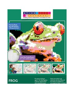 StickTogether® Springtime Frog Mosaic Sticker Puzzle Poster