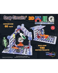 Snap Circuits 3d M.E.G. Project Kit