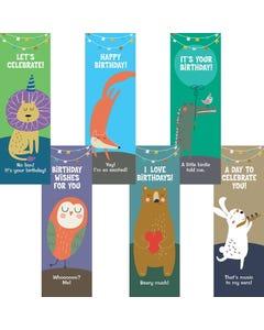 Demco® Upstart® Animal Fun Birthday Bookmarks