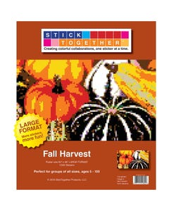 StickTogether® Fall Harvest Large Format Mosaic Sticker Puzzle Poster