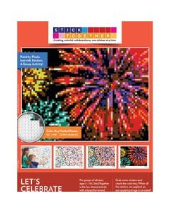 StickTogether® Let's Celebrate Mosaic Sticker Puzzle Poster