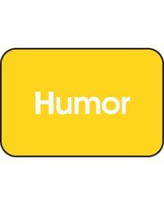Demco® Short Genre Subject Classification Labels - Humor
