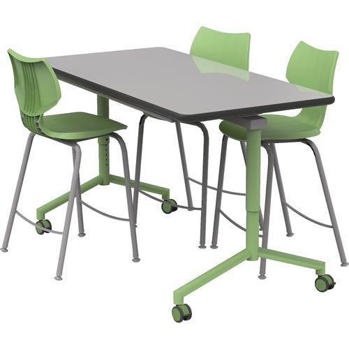 Shown With Optional Smith System Flavors Cafe Stools (Sold Separately)