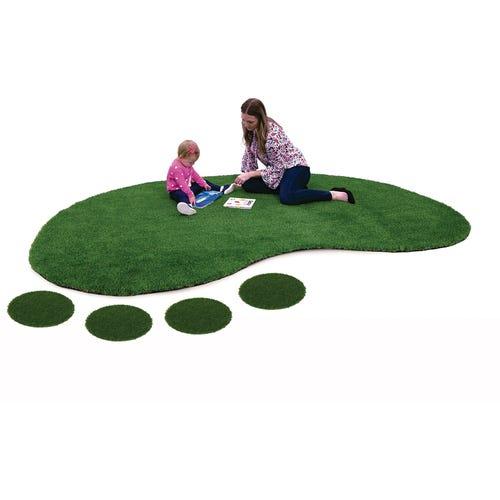 Jellybean shown with carpet circles