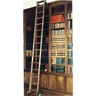 Tracks for Rolling Library Ladders