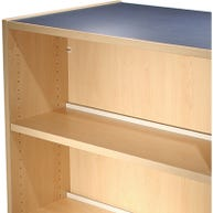 Double-Faced Center Dividers for Paragon Infinity™ Melamine Library Shelving