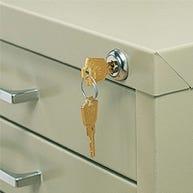 Lock Kit for Safco®® Steel Flat Files