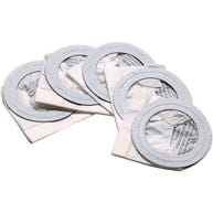 5 Replacement Bags and Filters for Toner Cleaning Kit For Data-Vac 3
