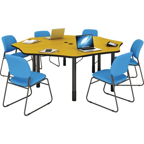 Shown with 2 Work Centers to create a 6-station center (Chairs and supplies are not inlcuded)