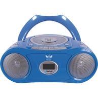 HamiltonBuhl® AudioAce™ Bluetooth/CD/Audiocassette Boom Box