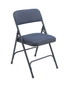 Upholstered Steel Folding Chairs