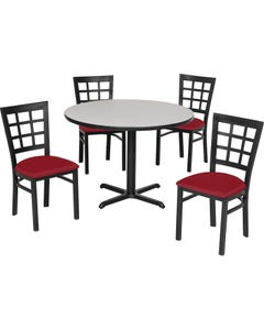 Premier Standard Height Nine Squares Back Chair