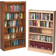 Back Panels for Gaylord® Bookcraft® Wood Shelving