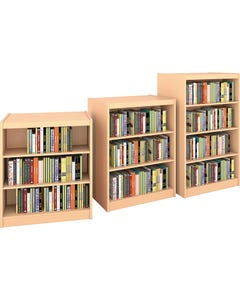 Shown With Flat Shelves