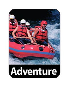 Gaylord® Paper Preprinted Classification Spine Labels - Adventure